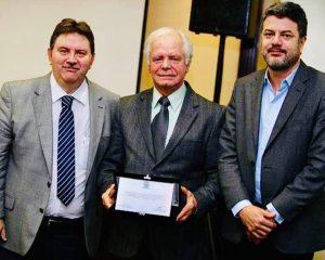 Dr. Italo Suriano, Dr. Otacilio e Dr. Ronald Farias
